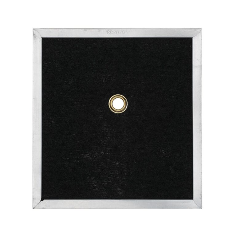 RCP0704 Carbon Odor Filter for Non-Ducted Range Hood or Microwave Oven | with Grommet Hole