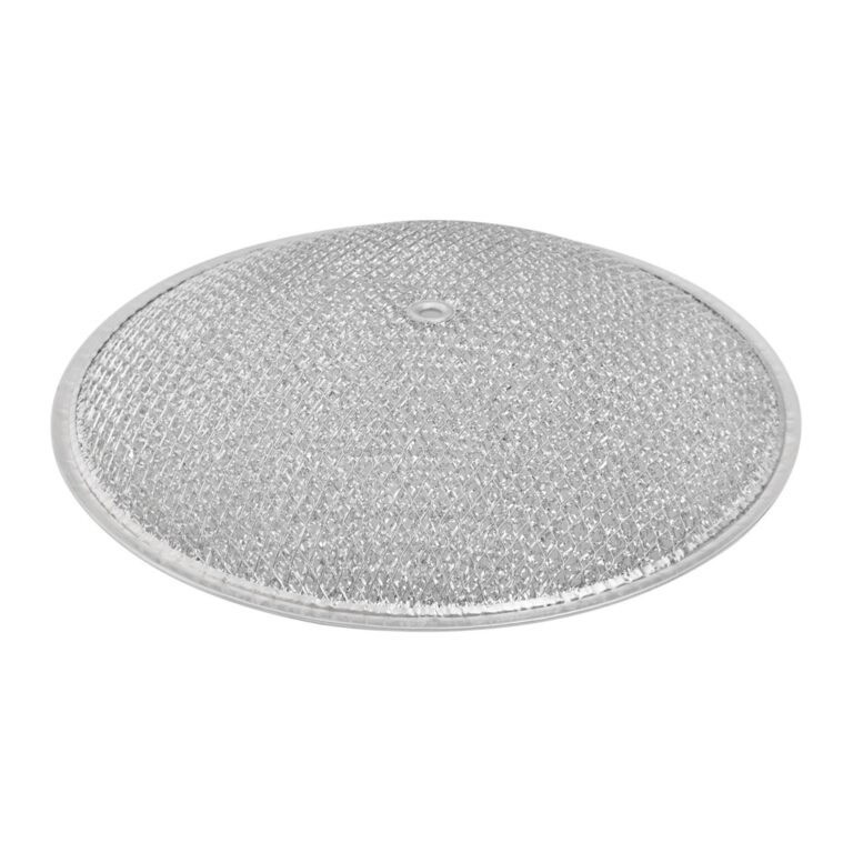 RDF1001 Aluminum Grease Filter for Ducted Range Hood or Microwave Oven   10-1/2″ Round X 3/32″   D1-1/4″   with Grommet Hole