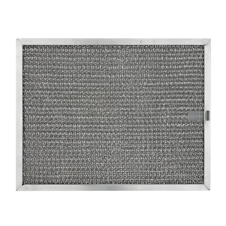 RHF0808 Aluminum Grease Filter for Ducted Range Hood or Microwave Oven   with Pull Tab