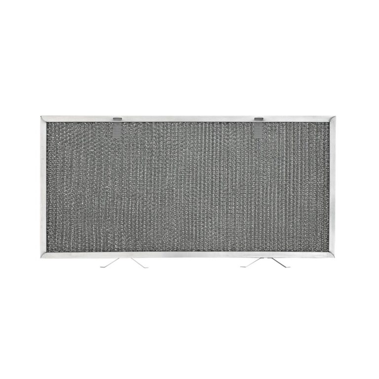 RHF0847 Aluminum Grease Filter for Ducted Range Hood   with 2 Pull Tabs and 2 Tension Springs