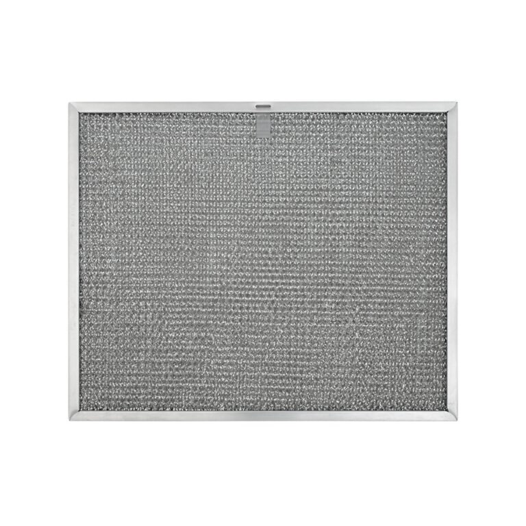 RHF1145 Aluminum Grease Filter for Ducted Range Hood or Microwave Oven   with 1 Pull Tab and 2 Slots