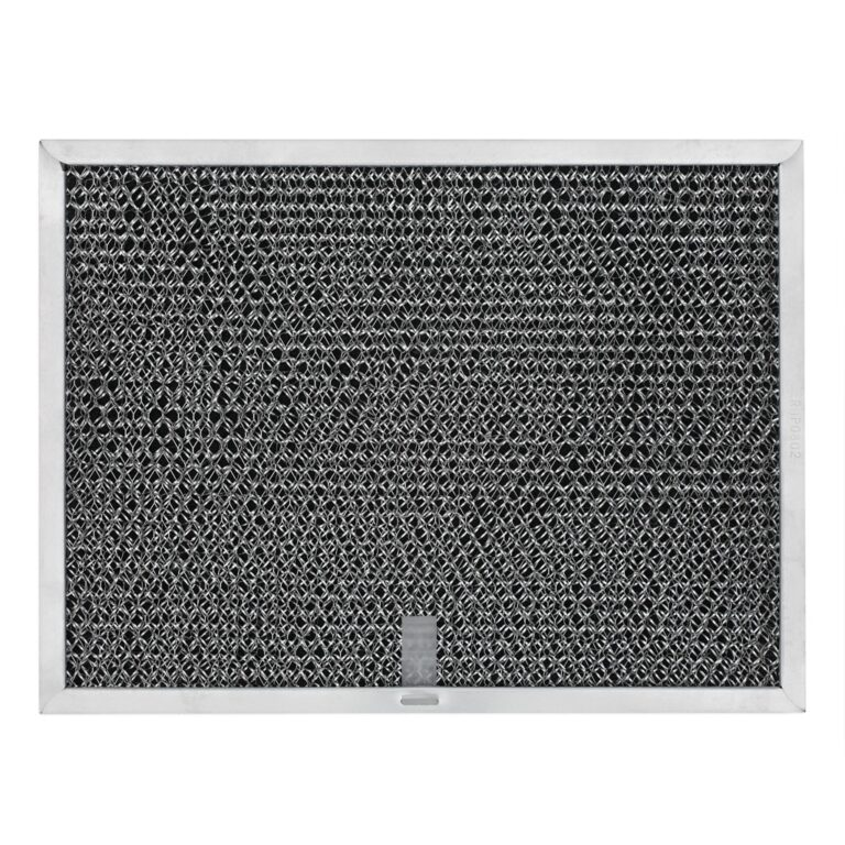 RHP0802 Aluminum/Carbon Grease and Odor Filter for Non-Ducted Range Hood or Microwave Oven | with Pull Tab