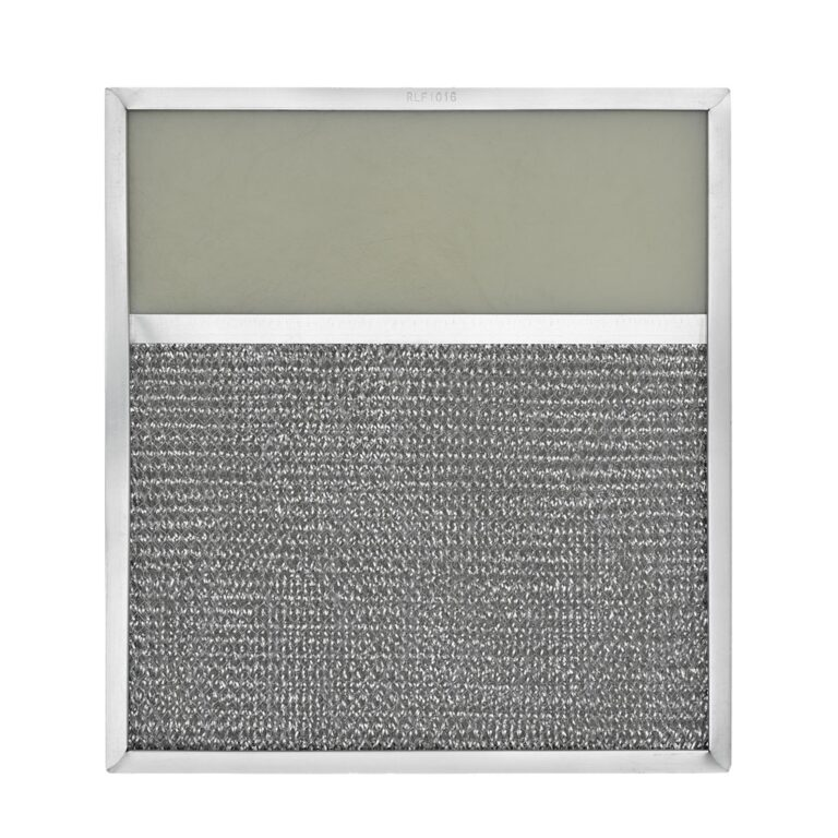 RLF1016 Aluminum Grease Filter with Light Lens for Ducted Range Hood | 4″ Lens