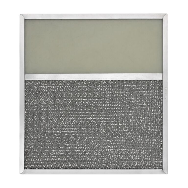 RLF1108 Aluminum Grease Filter with Light Lens for Ducted Range Hood | 4-1/2″ Lens