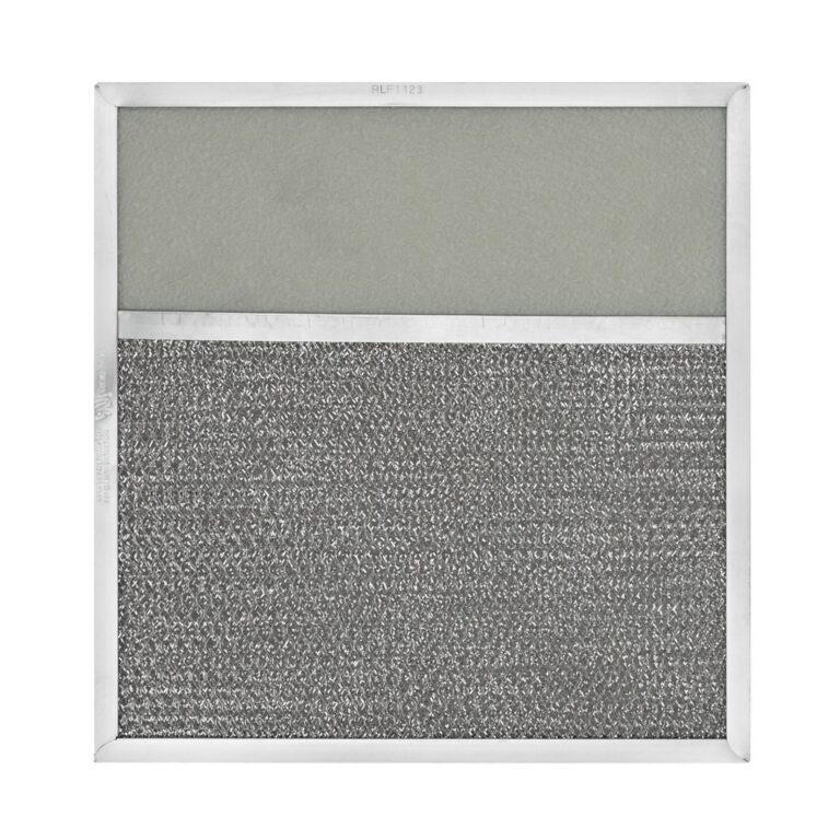 RLF1123 Aluminum Grease Filter with Light Lens for Ducted Range Hood | 3″ Lens