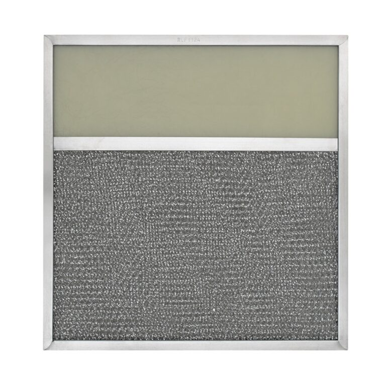 RLF1124 Aluminum Grease Filter with Light Lens for Ducted Range Hood | 4″ Lens