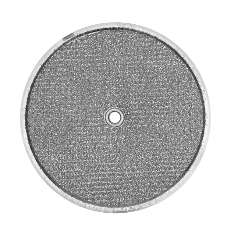 RRF0903 Aluminum Grease Filter for Ducted Range Hood| 9-1/2″ Round  X 3/32″ | with Grommet Hole