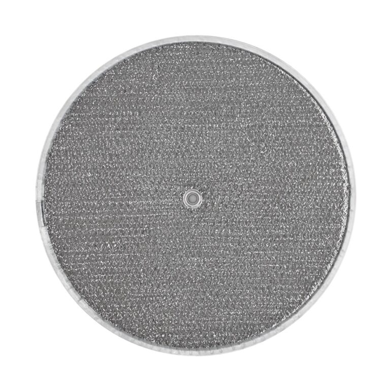RRF1102 Aluminum Grease Filter for Ducted Range Hood| 11-1/2″ Round  X 3/32″ | with Grommet Hole