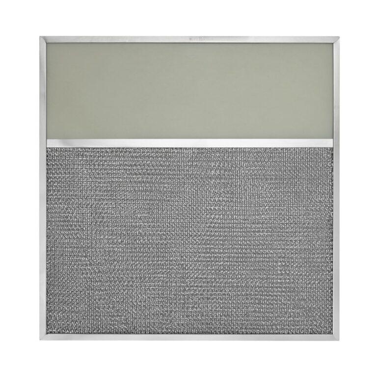 GE WB02X7358 Aluminum Grease Range Hood Filter Replacement