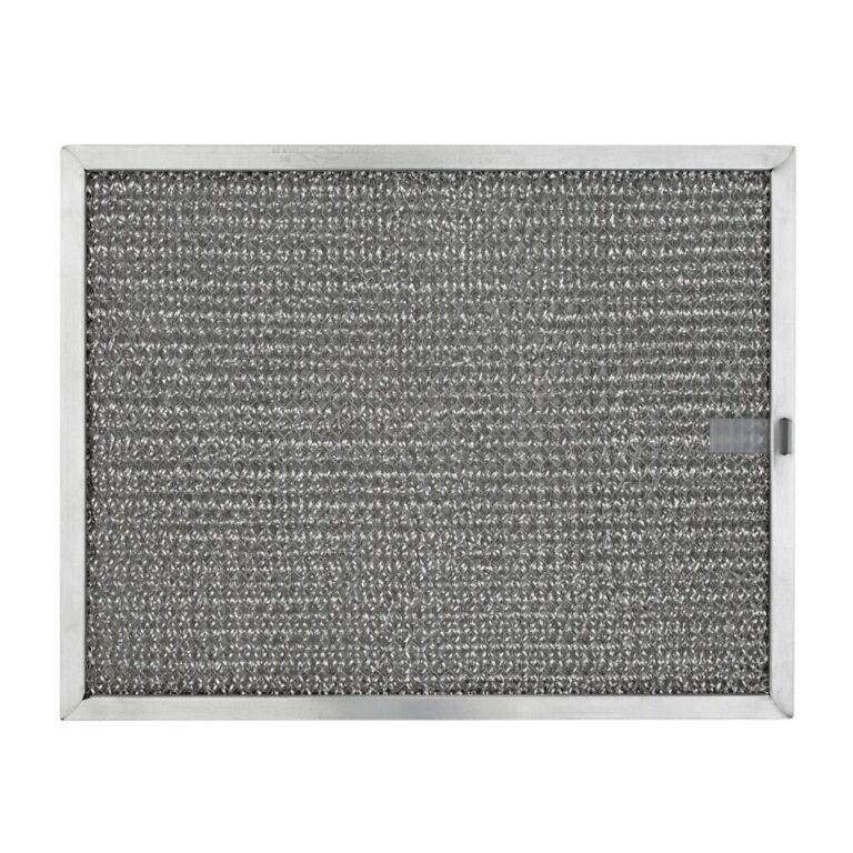 RHF0833 Aluminum Grease Filter for Ducted Range Hood or Microwave Oven   with Pull Tab