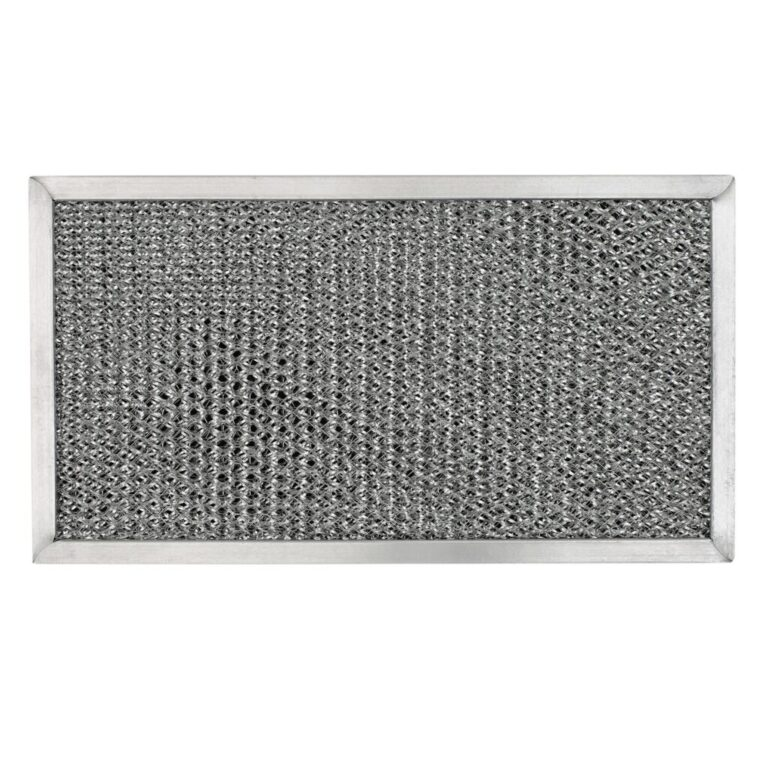 Whirlpool 4358003 Aluminum/Carbon Grease & Odor Range Hood Filter Replacement