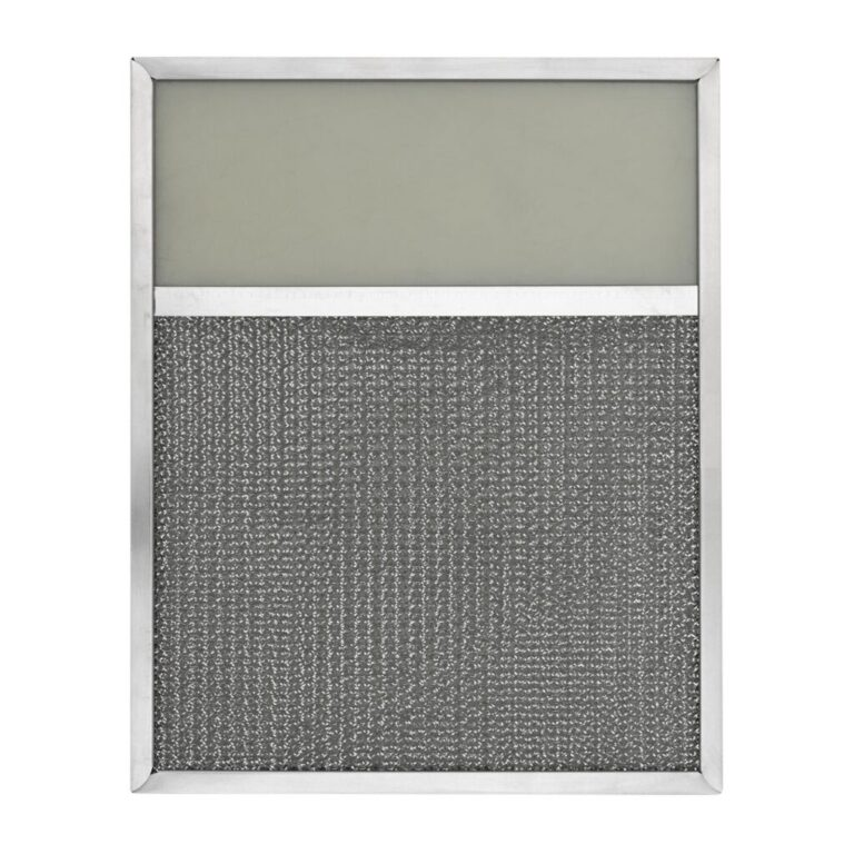 RLF1008 Aluminum Grease Filter with Light Lens for Ducted Range Hood | 4″ Lens