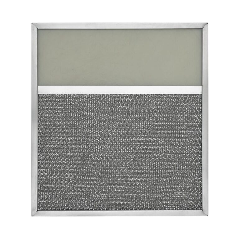 RLF1020 Aluminum Grease Filter with Light Lens for Ducted Range Hood | 4″ Lens