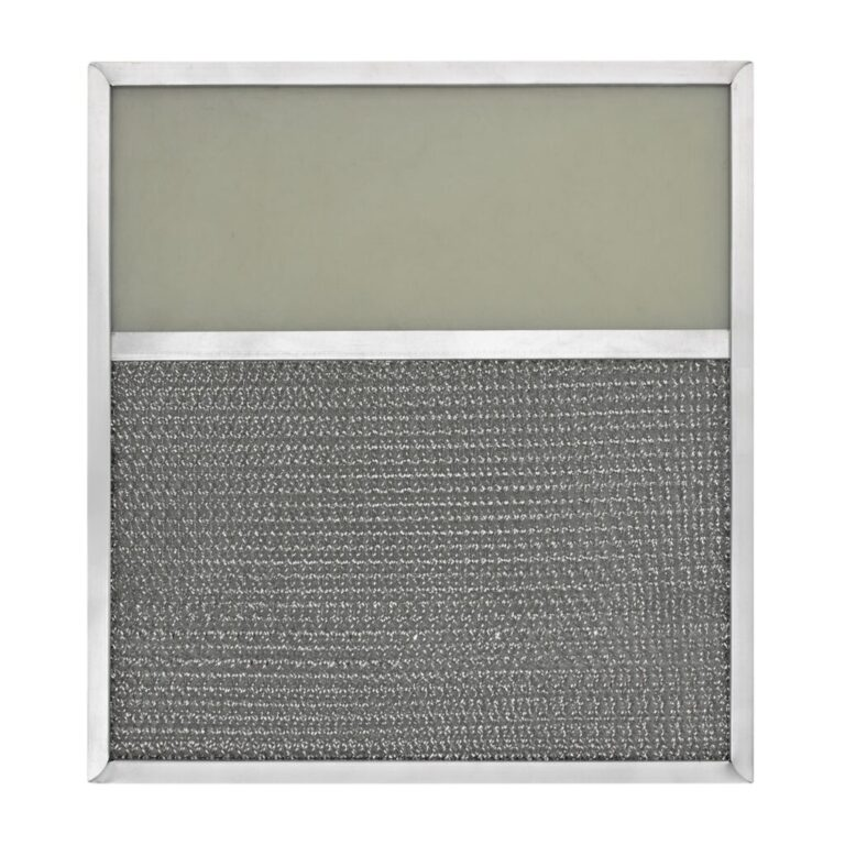 RLF1129 Aluminum Grease Filter with Light Lens for Ducted Range Hood   4″ Lens
