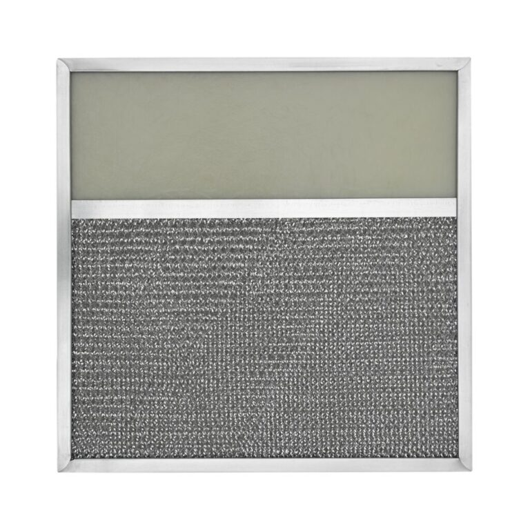 RLF1156 Aluminum Grease Filter with Light Lens for Ducted Range Hood   4″ Lens