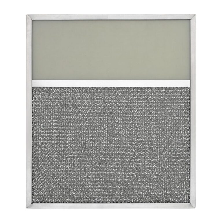 RLF1158 Aluminum Grease Filter with Light Lens for Ducted Range Hood   4″ Lens