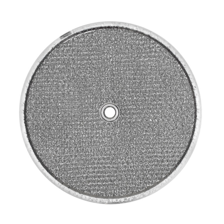 RRF0904 Aluminum Grease Filter for Ducted Range Hood| 9-1/2″ Round  X 5/16″ | with Grommet Hole