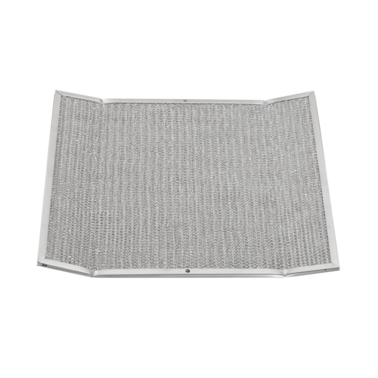 RWF1603 Aluminum Grease Filter for Ducted Range Hood  with 2 Holes, Wing 3-3/8″